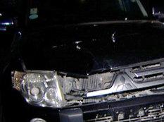 Mitsubishi piyadanı vurdu - FOTO