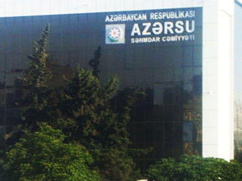 """""""Azərsu"""" Abşeronda su problemi ilə bağlı məlumat yaydı"""