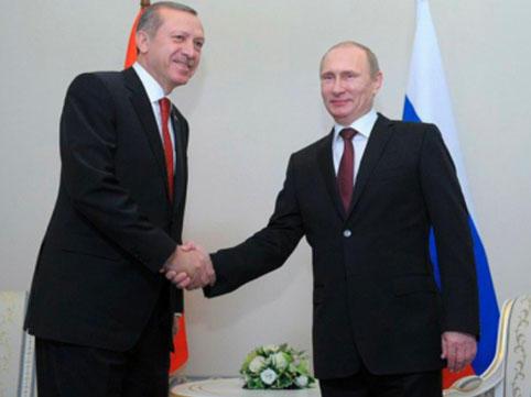Berlində Ərdoğanla Putinin görüşü başlayıb