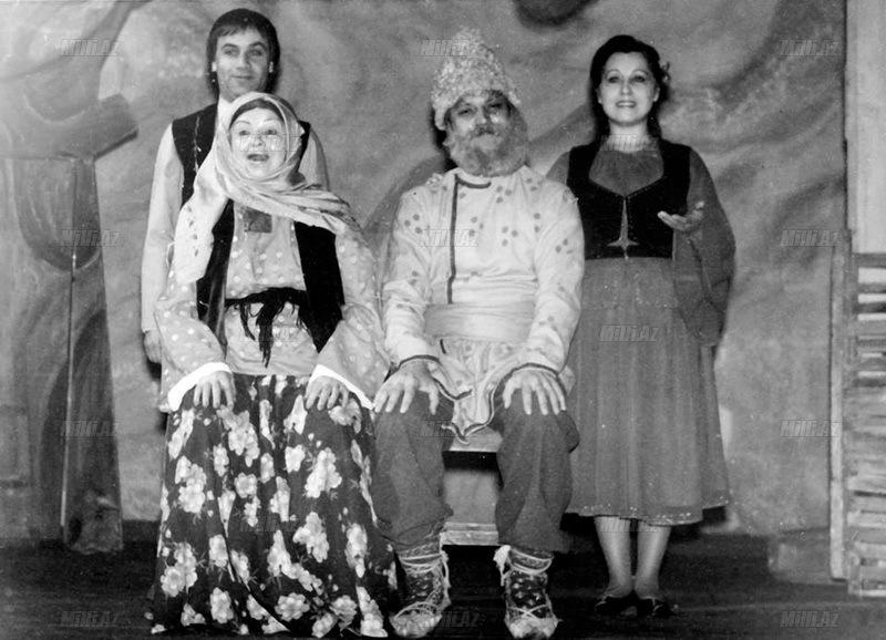 """Aktrisa Məsumə Babayeva: """"Rəhmətə gedən nəvəm deyirdi ki, nənəm kimi aktrisa olacağam"""" - FOTOSESSİYA"""