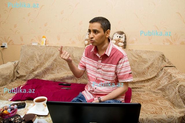 """Aqşin Yenisey: """"Ya serrozu dirildib özümü öldürməliyəm, ya da..."""" - FOTO"""